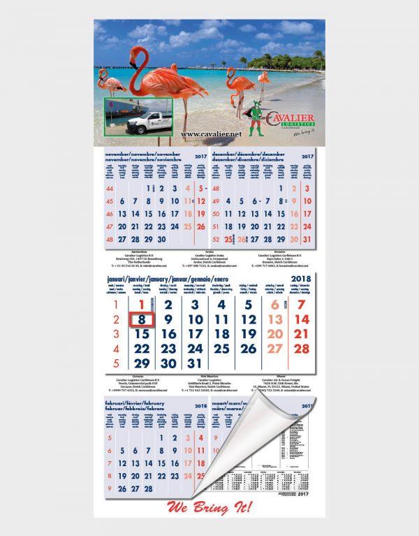 KAL154 5-maandskalender